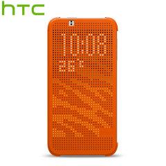 Official HTC Desire 510 Dot View Case - Orange Popsicle