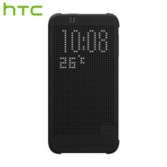 Official HTC Desire 510 Dot View Case - Warm Black