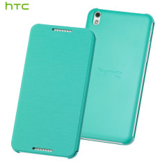Official HTC Desire 610 Flip Case - Green