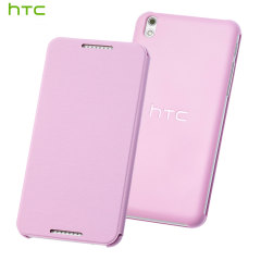 Official HTC Desire 610 Flip Case - Pink