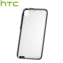 Official HTC Desire 626 Clear Shield Case - Onyx Black