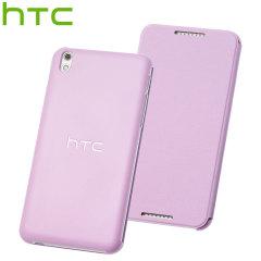 Official HTC Desire 816 Flip Case - Pink