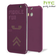 Official HTC One E8 Dot View Case - Baton Rouge
