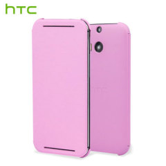 Official HTC One E8 Flip Case - Pink