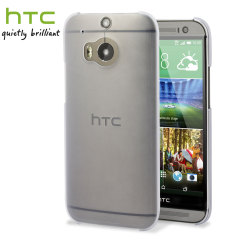 Official HTC One M8 Translucent Hard Shell Case with Screen Protector