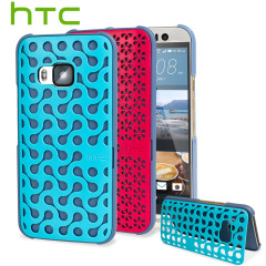 Official HTC One M9 DecoStand Case with Deco Plate Pack