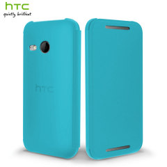 Official HTC One Mini 2 Flip Case - Dark Blue