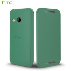 Official HTC One Mini 2 Flip Case - Green