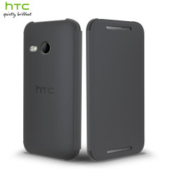 Official HTC One Mini 2 Flip Case - Grey