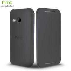 Official HTC One Mini 2 Flip Case - Grey