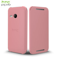 Official HTC One Mini 2 Flip Case - Pink