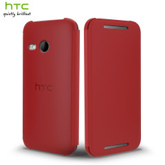 Official HTC One Mini 2 Flip Case - Red