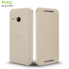 Official HTC One Mini 2 Flip Case - White