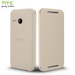 Official HTC One Mini 2 Flip Case - White