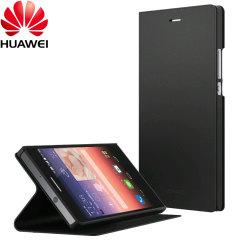 Official Huawei Ascend P7 Flip Case - Black