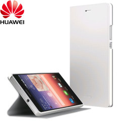 Official Huawei Ascend P7 Flip Case - White