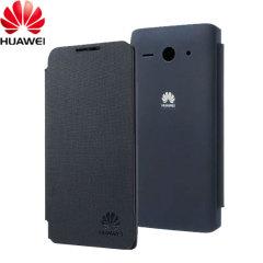 Official Huawei Ascend Y530 Flip Case - Dark Blue