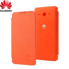 Official Huawei Ascend Y530 Flip Case - Orange