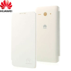 Official Huawei Ascend Y530 Flip Case - White