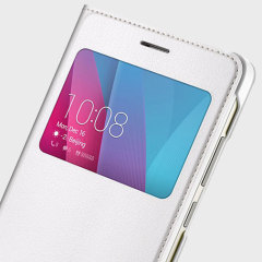 Official Huawei Honor 5X View Flip Case - White