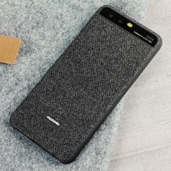 Official Huawei P10 Protective Fabric Case - Dark Grey