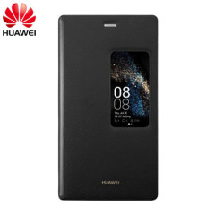 Official Huawei P8 Smart View Flip Case - Black