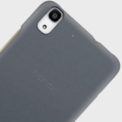 Official Huawei Y6 Hard Case - Grey / Black