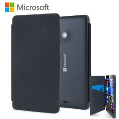 Official Microsoft Lumia 535 Flip Shell Case - Black