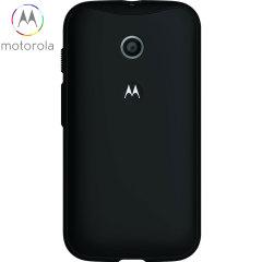 Official Motorola Moto E Grip Shell Case - Black