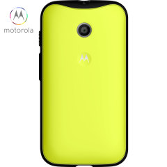 Official Motorola Moto E Grip Shell Case - Lemon Lime