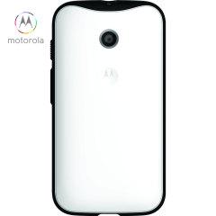 Official Motorola Moto E Grip Shell Case - White