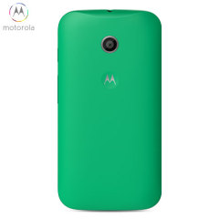 Official Motorola Moto E Shell Replacement Back Cover - Green