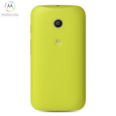 Official Motorola Moto E Shell Replacement Back Cover - Lemon Lime