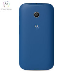Official Motorola Moto E Shell Replacement Back Cover - Royal Blue
