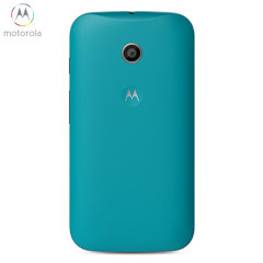 Official Motorola Moto E Shell Replacement Back Cover - Turquoise