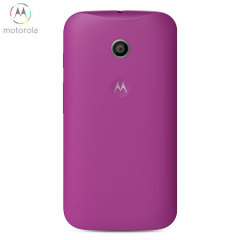 Official Motorola Moto E Shell Replacement Back Cover - Violet