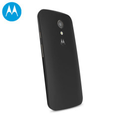 Official Motorola Moto G 2nd Gen Shell Replacement Back Cover - Black