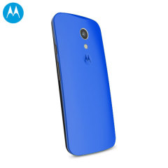 Official Motorola Moto G 2nd Gen Shell Replacement Back Cover - Blue