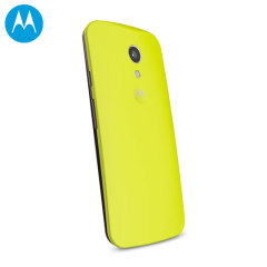 Official Motorola Moto G 2nd Gen Shell Replacement Back Cover - Lime
