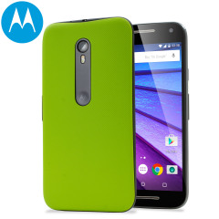 Official Motorola Moto G 3rd Gen Shell Replacement Back Cover - Lime