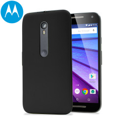 Official Motorola Moto G 3rd Gen Shell Replacement Back Cover - Black
