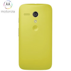 Official Motorola Moto G Battery Door - Lemon