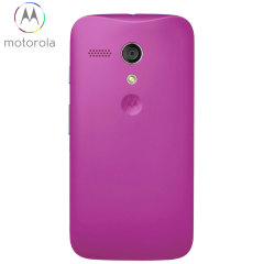 Official Motorola Moto G Battery Door - Violet