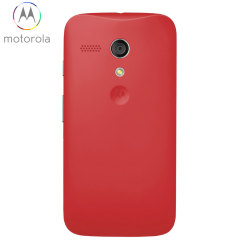 Official Motorola Moto G Battery Door - Vivid Red