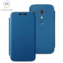Official Motorola Moto G Flip Cover - Royal Blue
