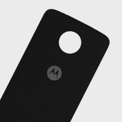 Official Motorola Moto Z Shell Nylon Fabric Back Cover - Heringbone