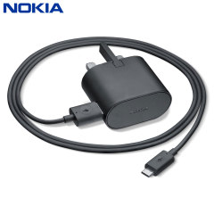 Official Nokia 1.5A Fast USB Charger AC-60x - Black