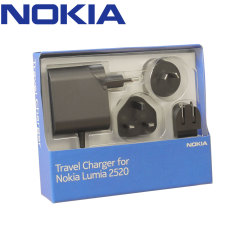 Official Nokia AC-300 Mains World Charger for Lumia 2520