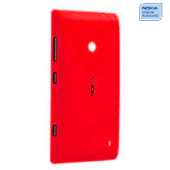 Official Nokia Lumia 525 / 520 Replacement Shell - Red - CC-3068RED