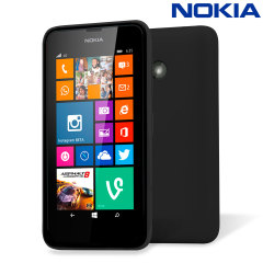 Official Nokia Lumia 530 Shell Case - Black